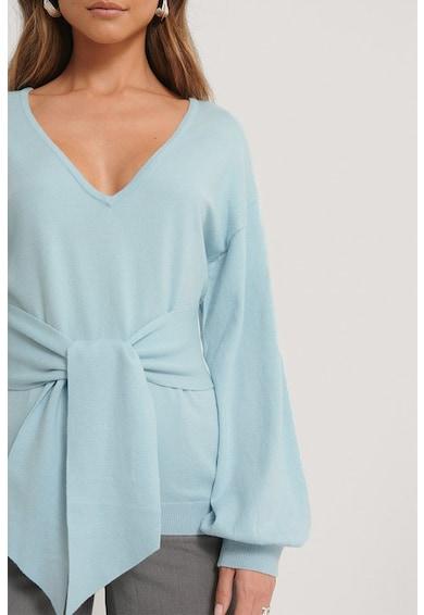 NA-KD Фино плетен пуловер с възел Жени