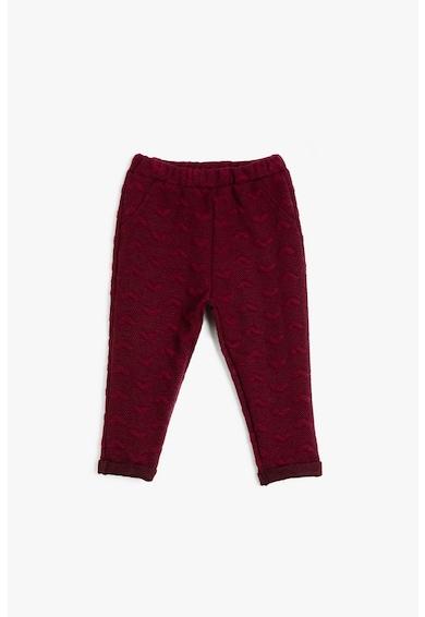KOTON Pantaloni lungi cu aspect texturat Fete