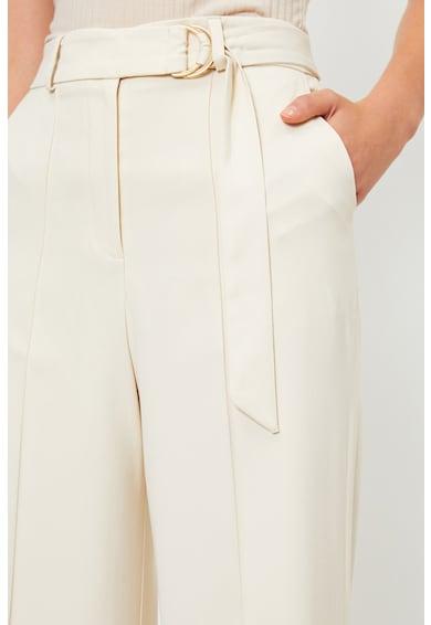 KOTON Pantaloni cu croiala ampla si cordon in talie Femei