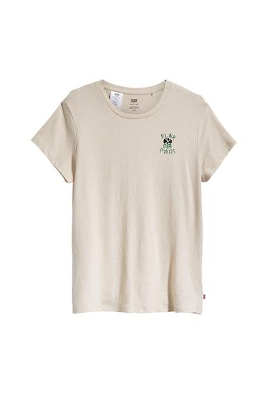 Levi's Tricou din amestec de canepa cu decolteu la baza gatului Femei