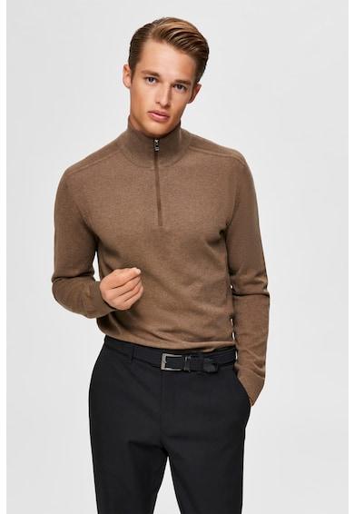 Selected Homme Пуловер с цип Мъже