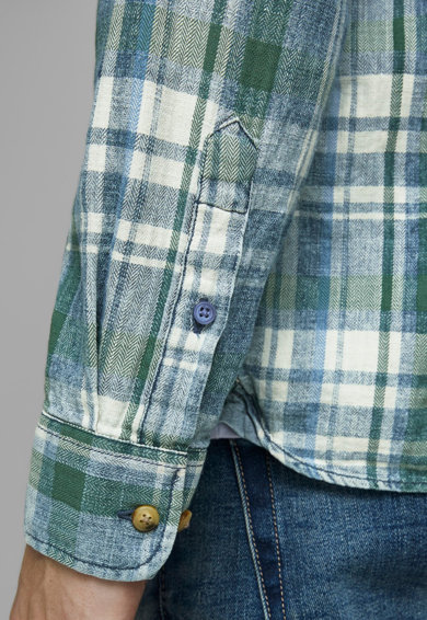 Jack&Jones Карирана риза с джоб на гърдите Мъже
