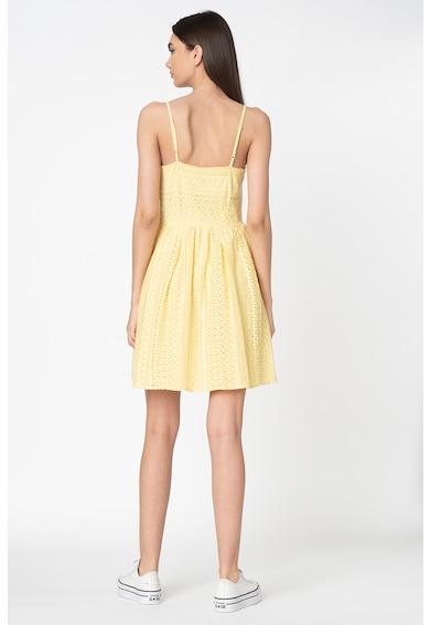 Vero Moda Rochie de dantela crosetata cu pliuri Honey Femei