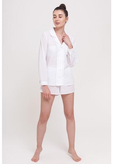 Sofiaman Pijama de bumbac cu pantaloni scurti Esentiale Femei