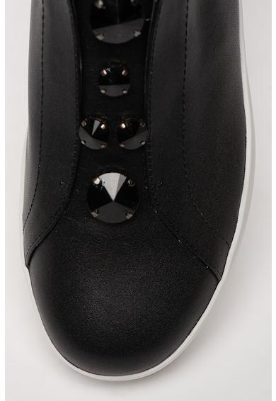 Ermanno Scervino Pantofi slip-on cu insertii din piele Femei