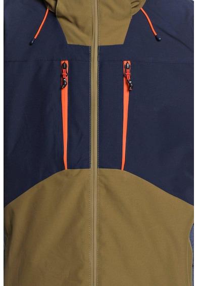 QUIKSILVER Mission Plus vízálló télikabát colorblock dizájnnal férfi
