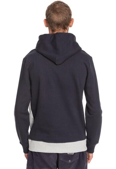 QUIKSILVER Emboss kapucnis pulóver logóval az elején férfi