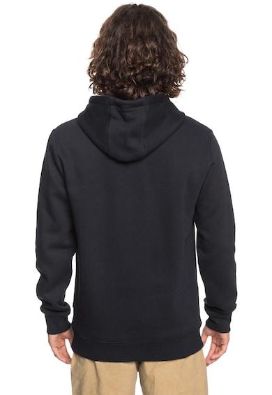 QUIKSILVER Tropicalliness kapucnis pulóver logó mintával férfi