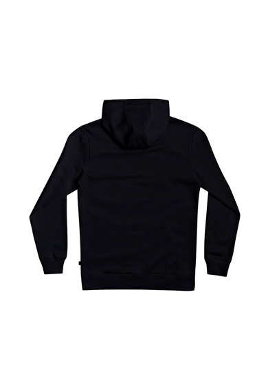 QUIKSILVER Sqaure Me Up kapucnis pulóver logó mintával férfi