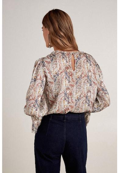 Oltre Bluza cu imprimeu paisley si mansete tip clopot Femei