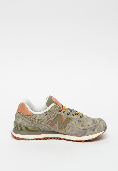 New Balance Pantofi sport cu garnituri de piele 574 Barbati