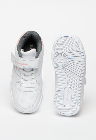 Champion Pantofi sport de piele ecologica Rebound Fete