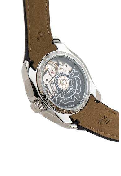 Tissot Ceas automatic cu o curea din piele Couturier Femei