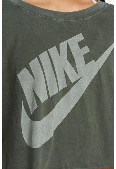Nike Tricou crop cu imprimeu logo Futura Femei