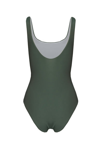 Nalu Costum de baie intreg Basic Army Femei