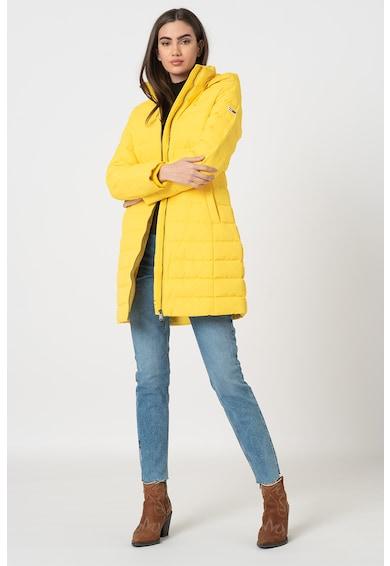 Tommy Jeans Steppelt hatású pihével bélelt dzseki női