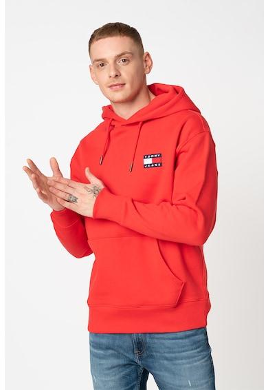 Tommy Jeans Kapucnis pulóver kenguruzsebbel férfi