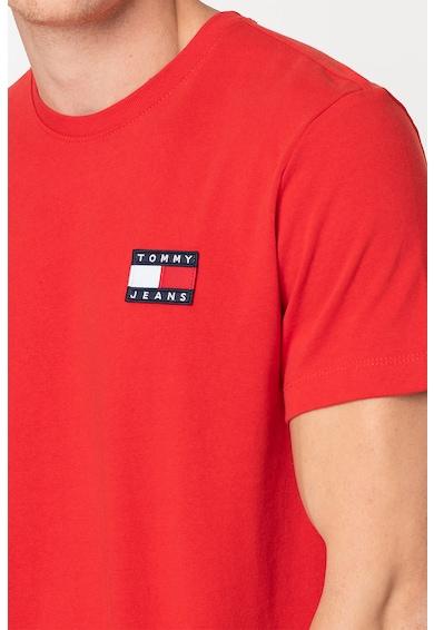 Tommy Jeans Organikuspamut póló logós foltrátéttel 3 férfi