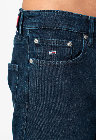 Tommy Jeans Blugi cu croiala dreapta si talie medie Barbati