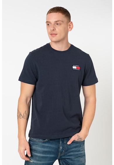 Tommy Jeans Organikuspamut póló logós foltrátéttel férfi