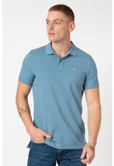Tommy Jeans Organikuspamut tartalmú galléros póló férfi