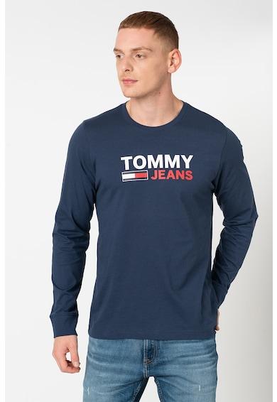 Tommy Jeans Organikuspamut felső logómintával férfi