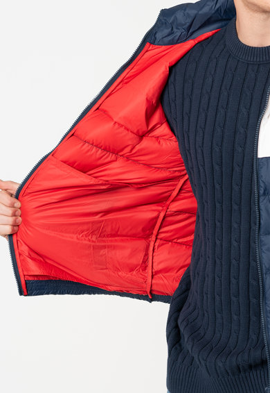 Tommy Jeans Pihével bélelt dzseki colorblock dizájnnal férfi