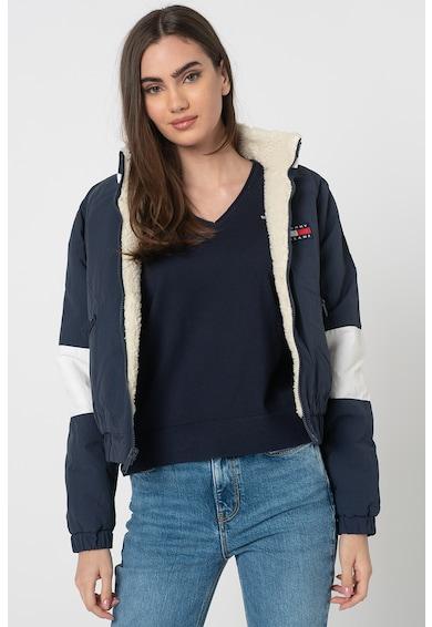 Tommy Jeans Kifordítható sherpa dzseki női