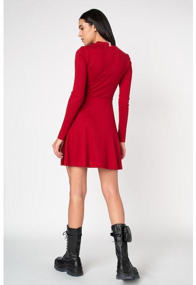 Tommy Jeans Bordázott miniruha női