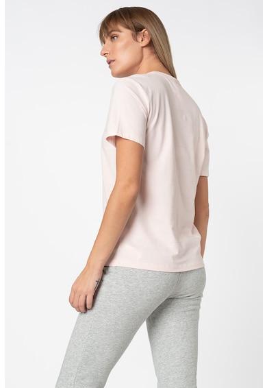 CALVIN KLEIN Tricou de pijama din bumbac cu imprimeu logo Femei