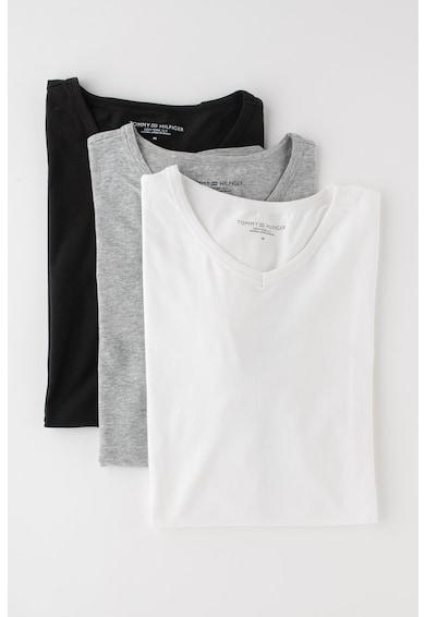 Tommy Hilfiger Set de tricouri slim fit de casa - 3 piese Barbati