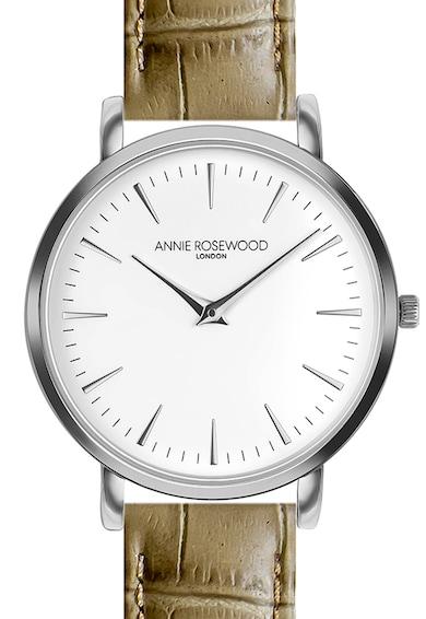 Annie Rosewood Ceas analog cu o curea din piele Femei