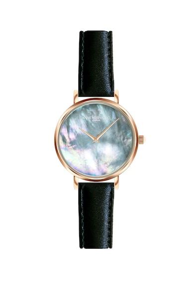 Annie Rosewood Ceas quartz cu o curea de piele si cadran Mother of Pearl Femei