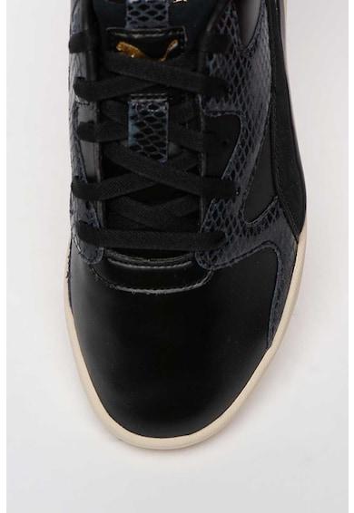 Puma Pantofi sport de piele ecologica cu detalii cu aspect de piele de sarpe Aeon Play Femei