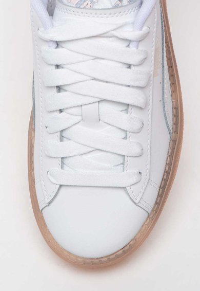 Puma Pantofi sport flatform de piele Trace Translucent Femei