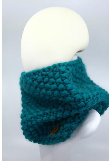 Made in Roșia Montană Fular circular de lana merino, tricotat gros Good Times Femei