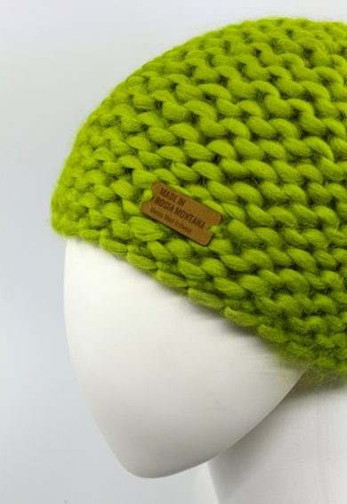 Made in Roșia Montană Caciula de lana merino Downtown Femei