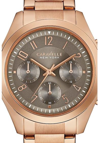 Caravelle Ceas cronograf cu bratara de otel inoxidabil Femei