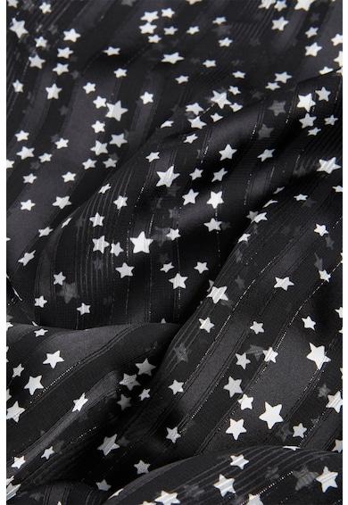 Motivi Esarfa cu model discret cu stele Femei
