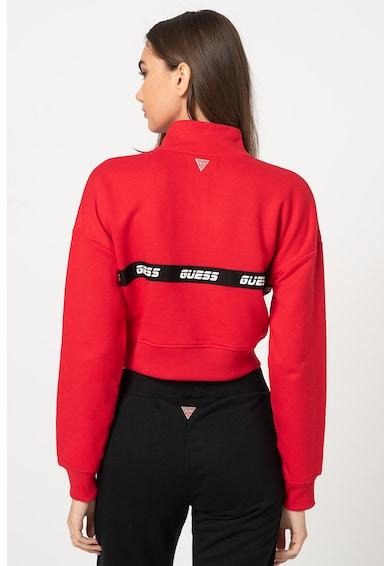 Guess Crop pulóver cipzáros hasítékkal női