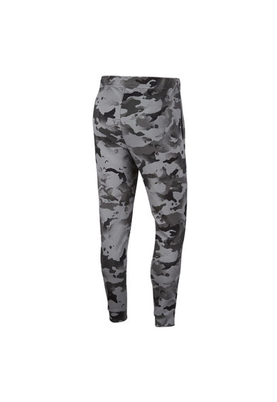 Nike Pantaloni sport cu tehnologie Dri-Fit si model camuflaj, pentru antrenament Barbati