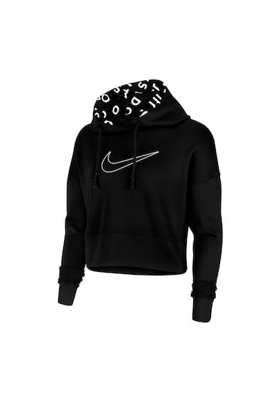 Nike Hanorac crop pentru fitness Therma Femei