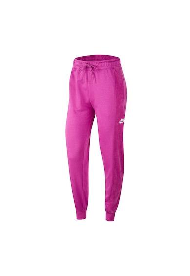 Nike Pantaloni sport conici cu logo Jogger Velour Femei