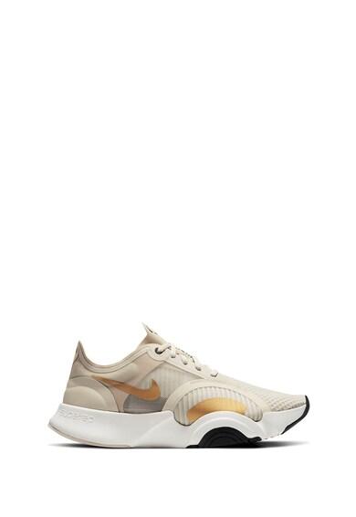 Nike Pantofi cu insertii de piele ecologica pentru fitness Superrep Femei