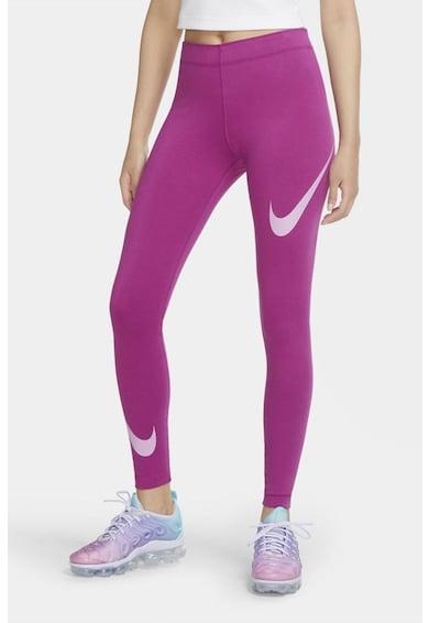 Nike Colanti cu imprimeu pentru fitness Leg-A-See Logi Femei