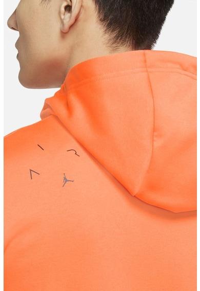Nike Air Therma cipzáros felső kapucnival és kontrasztos panelekkel férfi