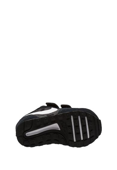 Nike Pantofi din material textil si piele intoarsa cu logo, pentru alergare MD Valiant Baieti