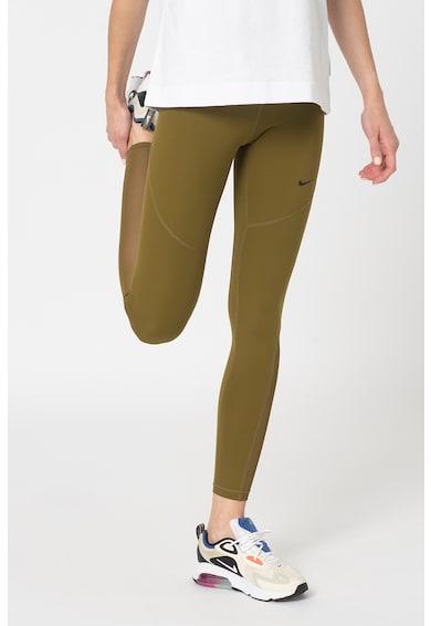 Nike Colanti tight fit cu detalii logo, pentru fitness Femei