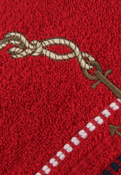 Hobby Комплект кърпи  Marina Red Çıpa, 2 бр, 100% памук, 50 x 90 см, Многоцветен Жени