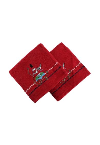 Hobby Комплект 2 кърпи  Marina Red Deniz Feneri, 100% памук, 50 x 90 см, Многоцветен Жени